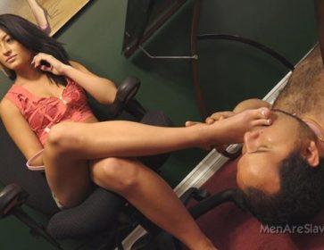 esclave de pieds